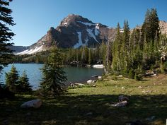 Christmas Meadows and Amethyst Lake--Uintas