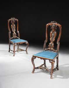 Richard Roberts: A Pair of George I Walnut Side Chairs - Mackinnon - Fine Furniture