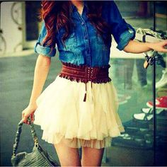 love this outfit... country cute :)