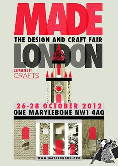 MADE LONDON - The Design and Craft Fair Poster by Sarah Young