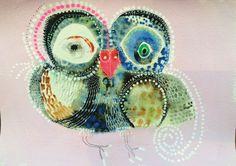 Owl Artwork, Bird Artists, Art Activities For Kids, Artist At Work, Jessie, Art Drawings, Original Artwork, Crochet Earrings, Birds
