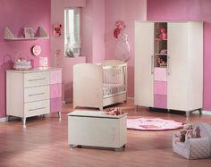 Chambre à coucher bébé   idées enfants: Chambre Fun pour fille ou garçon… mobilier sauthon