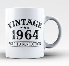 Vintage (Your Birth Year) - Custom Mug