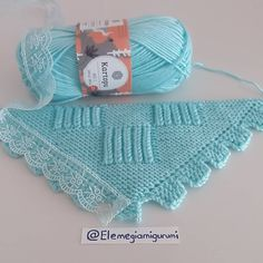 Image may contain: text Manta Crochet, Crochet Baby, Knit Crochet, Easy Knit Baby Blanket, Knit Baby Dress, Lace Knitting Patterns, Crochet Decoration, Knitted Afghans, Baby Knitting