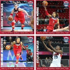 Photo: Congrats to Seimone Augustus, Sylvia Fowls, Maya Moore and Lindsay Whalen who were named to 2016 US Olympic Women's Basketball Team this morning! #RoadToRio #USABWNT