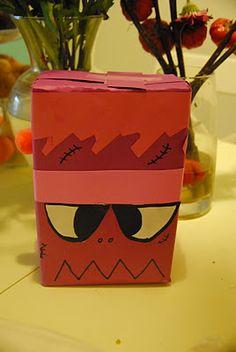 shoe box monster craft