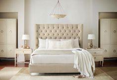 Salon Upholstered Queen Bed - Bernhardt Furniture