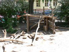 Geef kinderen planken en ze bouwen hutten, geef ze een hut en ze zullen er planken van maken...