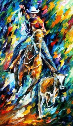 Cowboy Wall Art Horse Oil Painting On Canvas #art #painting @EtsyMktgTool #cowboywallart #cowboyart #cowboyoilpainting #cowboypainting