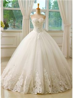 ericdress bastante cariño appliques el vestido de boda vestido de fiesta