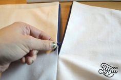 Hvordan du syer en usynlig lynlås Tie Clip, Diy And Crafts, Sewing, Womens Fashion, Inspiration, Patterns, Scrappy Quilts, Bra, Creative