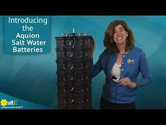 Off Grid Saltwater Battery Can Power Home for 10 Years!   Homestead Guru