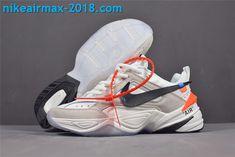 New Arrival Women s Off-White x Nike M2k Tekno AO3108-058 White Gray Black f9ecce3eda80