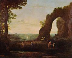 Paysage côtier avec Persée et l'origine du corail, 1673