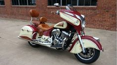 2014 Indian Chieftain Indian Motorcycle Red, Oklahoma City OK - - Cycletrader.com