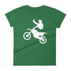 Motocross - T-Shirt (white print)