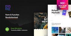 Revolution - Creative Multipurpose WordPress Theme Wordpress Template, Tema Wordpress, Premium Wordpress Themes, Wordpress Plugins, Website Design Inspiration, Design Blog, Ecommerce, Creative Portfolio, Design Web