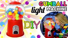 Awesome way to make a lamp shaped like a gumball machine. Embellish your room with this old-school style decorative light! For this super-duper retro nightli...