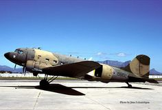 Over 40 operated by the SAAF since The SAAF stil operate several with a turbofan engine conversion. Navy Marine, Army & Navy, Fighter Aircraft, Fighter Jets, Douglas Dc3, Turbofan Engine, The Art Of Flight, South African Air Force, Parachute Regiment
