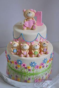 Baby Boy Birthday Cake, First Birthday Cakes, Cupcakes, Cupcake Cakes, Crazy Cakes, Fancy Cakes, Little Cakes, Dessert, Drip Cakes