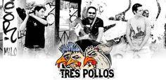 TRES POLLOS suman nuevas fechas a su exitosa gira de presentación