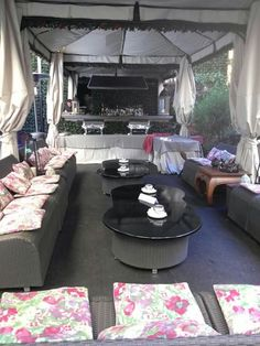 Outdoor lounge and bar at Residenza di Ripetta made for good wine, good conversation. http://www.facebook.com/celebratetravelinc