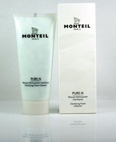 Monteil Paris Pure-N 3.4 oz Clarifying Foam Cleanser by Monteil Paris. $19.00. Appropriate for any skin type. Paraben Free. This intensively clarifying cleansing foam effectively removes impurities. make-up and residues without impairing the skin's  protective mantle.