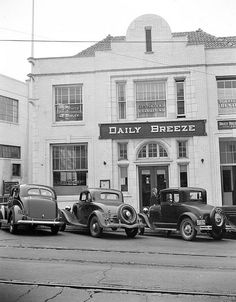 DAILY BREEZE REDONDO BEACH 1939 by Ron Felsing, via Flickr