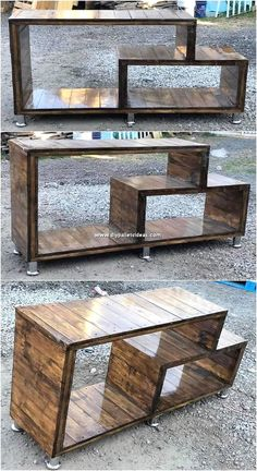 How about the idea of bringing the wood pallet straight away in your living room. - How about the idea of bringing the wood pallet straight away in your living room areas? It sounds r - Diy Pallet Furniture, Furniture Projects, Rustic Furniture, Wood Crafts Furniture, Furniture Buyers, Cool Woodworking Projects, Diy Pallet Projects, Pallet Ideas, Woodworking Tools
