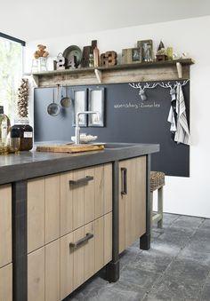 Kitchen Interior, Kitchen Decor, Kitchen Utensils, Interior Inspiration, New Homes, Cabinet, Storage, Table, House