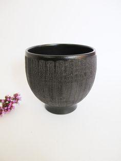 Japanese Ceramic Bowl - Black