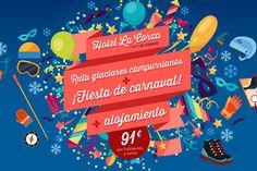 Ven a celebrar el carnaval al hotel La Corza - CANTUR – Sociedad Regional Cántabra de Promoción Turística - Cantabria