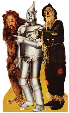Lion, Tinman & Scarecrow - Wizard of Oz - 566