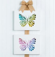 If you're not a painter, try your hand at this cut-and-layer technique. It's a unique twist on canvas art, and it's a fun way to incorporate some of your favorite craft papers. Step-by-step instructions ahead. Diy Wall Art, Diy Art, Canvas Wall Art, Origami, Diy And Crafts, Arts And Crafts, Paper Crafts, Diy Projects Videos, Art Projects