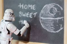 home sweet home for a stormtrooper