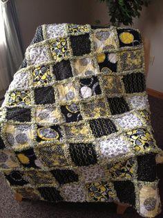 Rag Quilt by mpeechatka on Etsy, $130.00