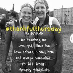 #Thankfulthursday lets start a revolution! #love #mom #thankful #australia #warriordash #arkansas
