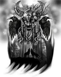 Resultado de imagen de odin tattoo
