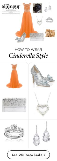 """Untitled #304"" by shri19 on Polyvore featuring Jimmy Choo, Betsey Johnson, Plukka and Effy Jewelry"
