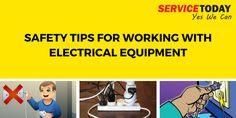Best Tips To Stay Safe While Working With Electrical Equipment. #Electrical #Shock #Safety #Tips #Adelaide #Australia