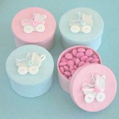 Handmade Baby Carriage Boxes (set of Shower Hand Cream Favors, Personailzed Baby Shower Favors, Favors, Baby Shower, Personalized Homemade Baby Shower Favors, Unique Baby Shower Favors, Cheap Baby Shower, Shower Bebe, Baby Shower Desserts, Baby Shower Party Favors, Baby Shower Parties, Baby Shower Themes, Baby Boy Shower