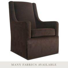 $1,089 // 27.5 w x 29 d x 44 h // Jennifer Delonge Furniture Original Luxe Glider