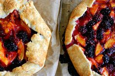 Can't wait to try this Nectarine and Blueberry Galette.
