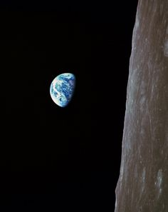 December 24, 1968: Apollo 8 astronauts Frank Borman, Jim Lovell and Bill Anders became the first humans to view the Earth from lunar orbit. They took this iconic Earthrise photo.