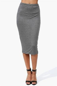 This stretchy pencil skirt looks super-versatile and is only $18.99!