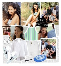Joey Potter - Outfit Inspiration - Season 1 by vilena-ferreira on Polyvore featuring moda, Jane Norman, Sophie Buhai, Oris and Chanel