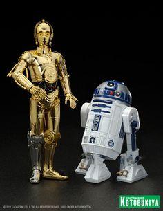 Chop Kotobukiya Star Wars C-3PO R2-D2 avec BB-8 épisode 7 La Force Réveille ArtFX