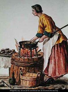 Venetian Doughnut Seller  Jan van Grevenbroeck  18th century
