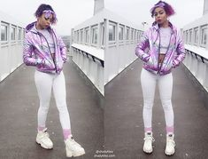 Get this look: http://lb.nu/look/8994736  More looks by Shady Kleo: http://lb.nu/shadykleo  Items in this look:  Forever 21 Jacket, Buffalo White Space Boots, Primark Bandana, Bubbles Tokyo Cropped Jumper   #casual #pastel #street #ootd #style #love #bloggers #jacket #pink
