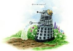 You hear that my little pumpkins?! The Dalek said Germinate!